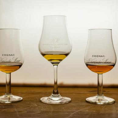 The Cognac wineries