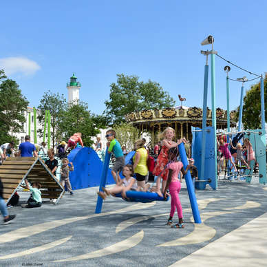 Square Valin, the place to be for families