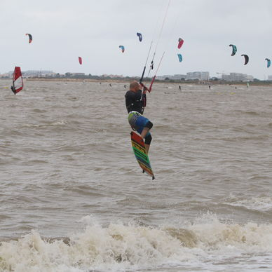 Kite-surfing in La Rochelle :the spots to know