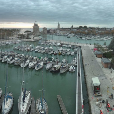 La Rochelle - Old Port - Real Time Panoramic