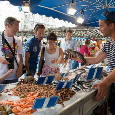 The most beautiful markets of La Rochelle